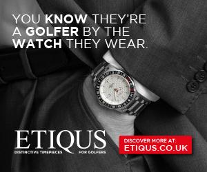 ETIQUS Golf Timepiece banner