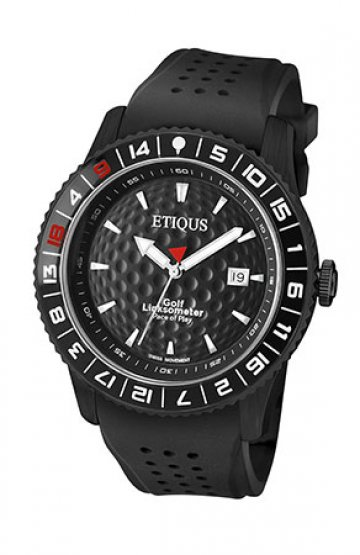 SPORT PRO IONIC with NIGHT BLACK dial and BLACK SILICONE strap