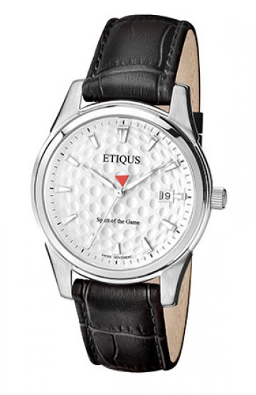 CLASSIC TOUR with SUMMER WHITE dial and BLACK LEATHER strap