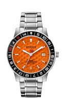 SPORT TOUR with IBERIAN ORANGE dial and STAINLESS STEEL bracelet