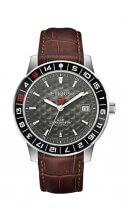 SPORT TOUR with AULD GREY dial and BROWN LEATHER strap