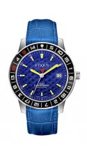 SPORT TOUR with EUROPEAN BLUE dial and BLUE LEATHER strap