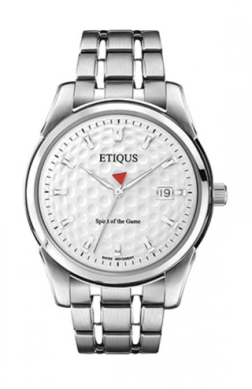 CLASSIC TOUR with SUMMER WHITE dial and STAINLESS STEEL bracelet