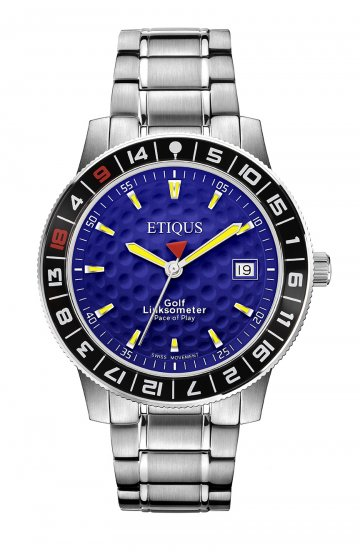 SPORT TOUR with EUROPEAN BLUE dial and STAINLESS STEEL bracelet