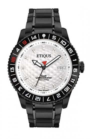 SPORT PRO IONIC with SUMMER WHITE dial and BLACK IONIC PLATED STEEL bracelet