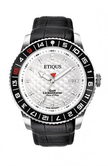 SPORT PRO with SUMMER WHITE dial and BLACK LEATHER strap