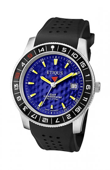 SPORT TOUR with EUROPEAN BLUE dial and BLACK SILICONE strap