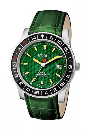 SPORT TOUR with GEORGIA GREEN dial and GREEN LEATHER strap