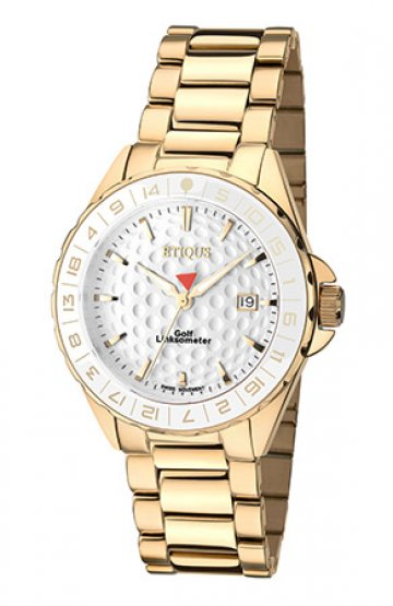 SPORT LADY GOLD PLATED STAINLESS STEEL