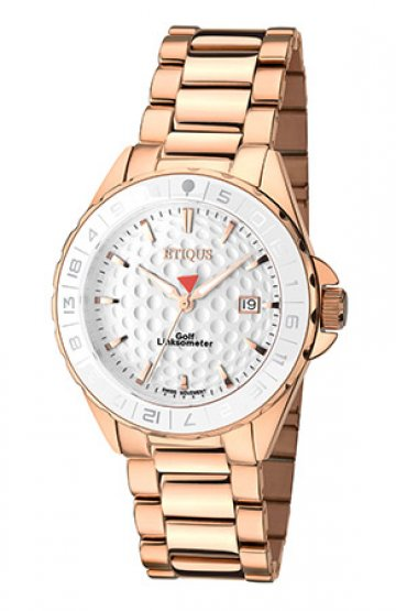 SPORT LADY ROSE GOLD PLATED STAINLESS STEEL