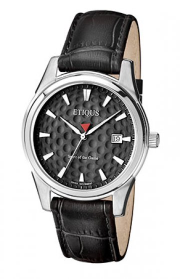 CLASSIC TOUR with NIGHT BLACK dial and BLACK LEATHER strap