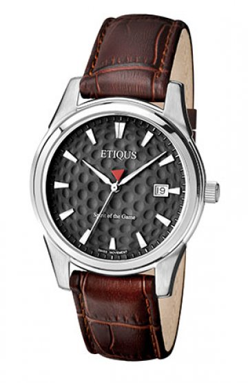 CLASSIC TOUR with AULD GREY dial and BROWN LEATHER strap