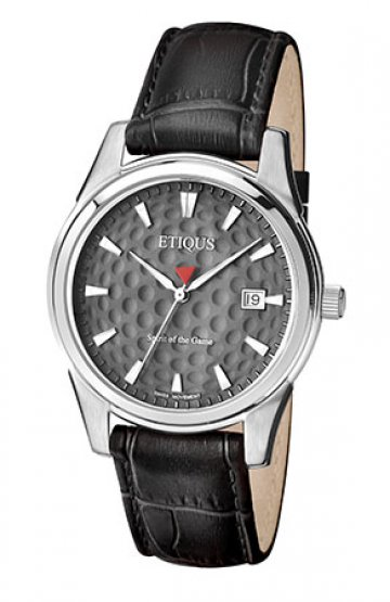 CLASSIC TOUR with AULD GREY dial and BLACK LEATHER strap