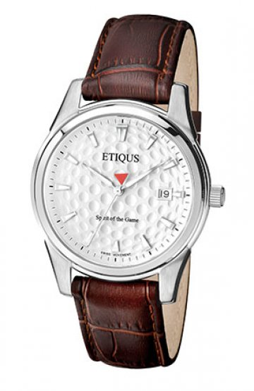 CLASSIC TOUR with SUMMER WHITE dial and BROWN LEATHER strap