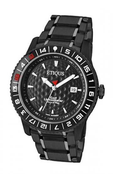SPORT PRO IONIC with NIGHT BLACK dial and BLACK IONIC PLATED STEEL bracelet