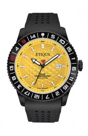 SPORT PRO IONIC with WINTER YELLOW dial and BLACK SILICONE strap