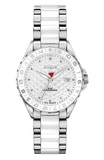 SPORT LADY STAINLESS STEEL WHITE CERAMIC