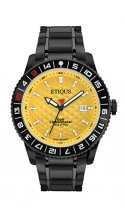 SPORT PRO IONIC with WINTER YELLOW dial and BLACK IONIC PLATED STEEL bracelet