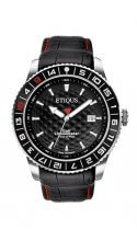 SPORT PRO with NIGHT BLACK dial and BLACK LEATHER strap