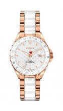 ETIQUS Rose Gold White Ceramic