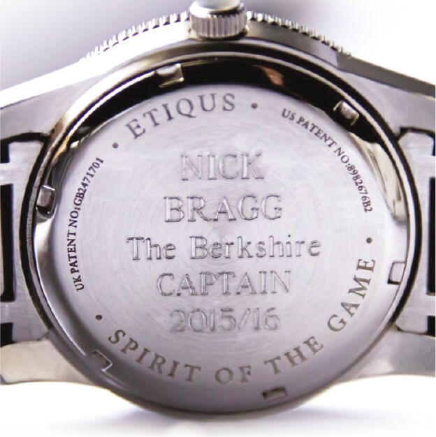 Captains engraving