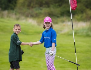 Golf Foundation kids – credit Leaderboard Photography